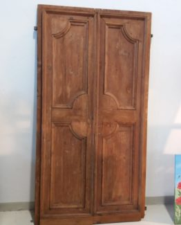 porta in legno 2 ante